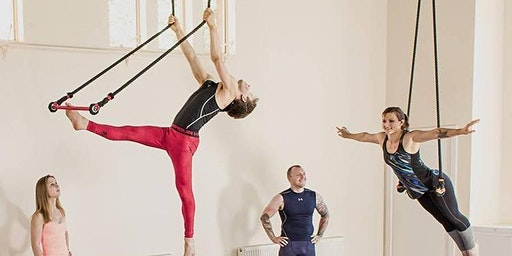 Static Trapeze with The Indytute