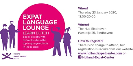 Expat Language Lounge: January 2020 tickets