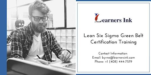 Lean Six Sigma Green Belt Certification Training Course (LSSGB) in Boulder
