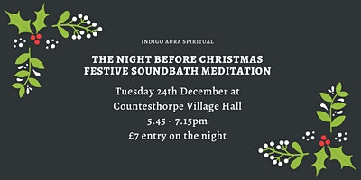 The Night Before Christmas Sound Bath Special