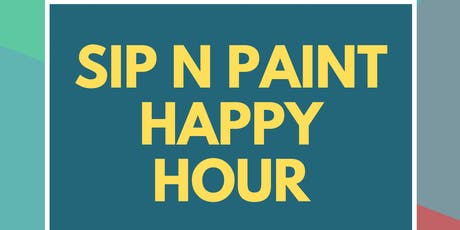 Sip n Paint Happy Hour (At Baltimore's Best Art Gallery!) tickets