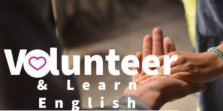 Volunteer and learn English! tickets