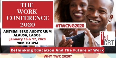 The Work Conference 2020 tickets