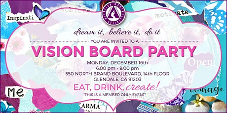 Vision Board Party tickets