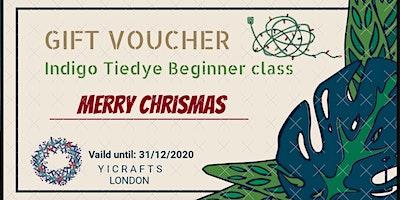 Indigo Tie Dye Shibori Beginner Class (Gift voucher)