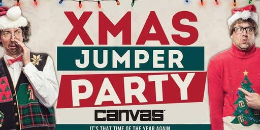 The Canvas Christmas Jumper Party!
