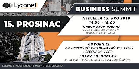 Lyconet Business Summit Zagreb tickets