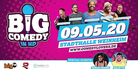 """""""BigComedy"""" mit Dave Davis, Simon Pearce, Sven Bensmann & weiteren Special Guests tickets"""