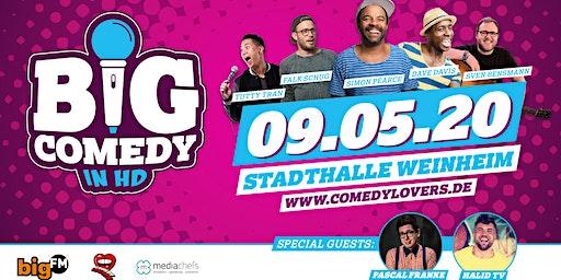 """BigComedy"" mit Dave Davis, Simon Pearce, Sven Bensmann & weiteren Special Guests"