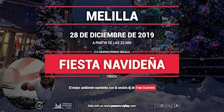 Fiesta navideña con Fran Guerrero en Pause&Play Parque Melilla entradas