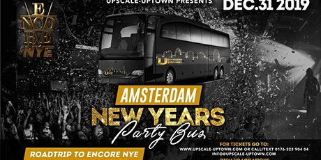 NYE AMSTERDAM ENCORE PARTY BUS tickets