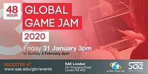 Global Game Jam 2020 SAE Institute London - OFFICIAL...