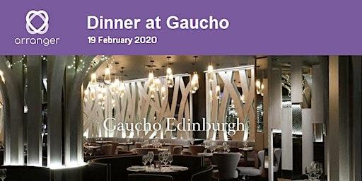 Dinner for Funeral Directors in Edinburgh hosted by Arranger Software