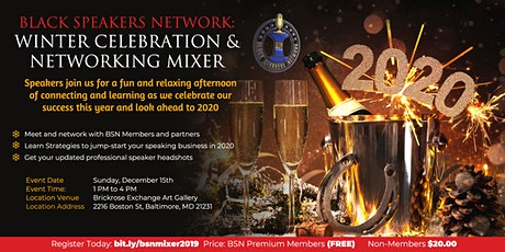 BSN End of Year Winter Celebration & Networking Event tickets