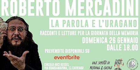 Roberto Mercadini, La parola e l'uragano | Fuori dai denti #2 biglietti