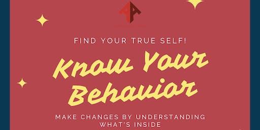 Know Your Behavior
