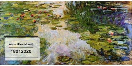 2020 Jan: Water Lilies (Monet) tickets