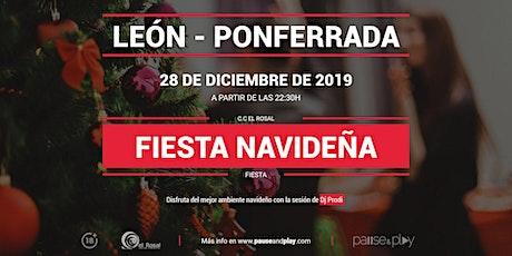 Fiesta navideña con Dj Prodi en Pause&Play El Rosal entradas