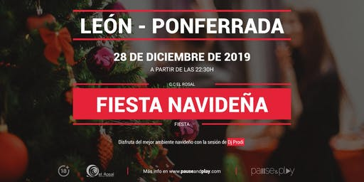 Fiesta navideña con Dj Prodi en Pause&Play El Rosal