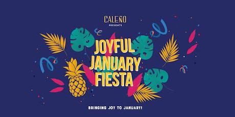 CALEÑO  Joyful January Alcohol-Free Fiesta tickets