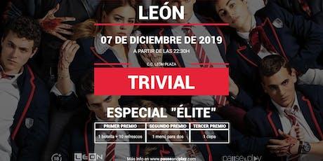 Trivial Especial Élite en Pause&Play Leon Plaza entradas