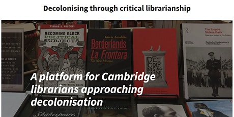 Decolonising through critical librarianship - Brown Bag Lunch tickets