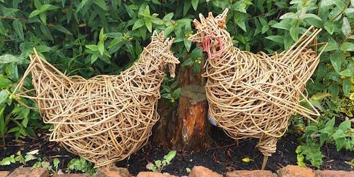 Willow Animal Sculpture Workshop