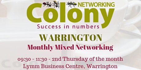 Colony Networking (Warrington) - 12 November 2020 tickets