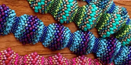 The Peyote Wave Bracelet - Jewelry Making tickets