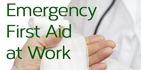 RT Training - Emergency First Aid at work tickets