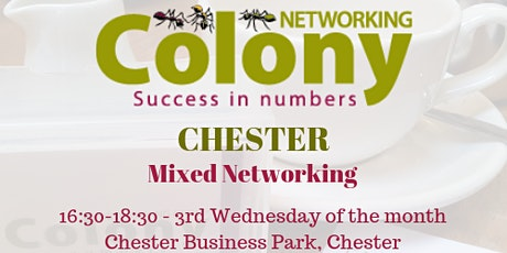 Colony Networking (Chester) - 18 November 2020 tickets