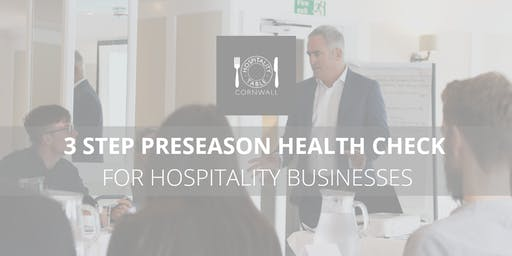Pre-season Health Check for Hospitality Businesses