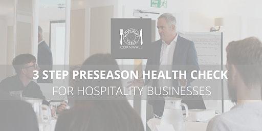 Pre-season Health Check for Hospitality Businesses
