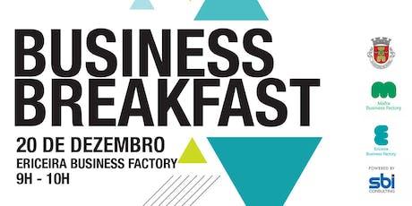 Business Breakfast tickets