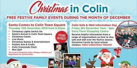 Santa Comes to Colin tickets