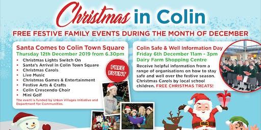 Santa Comes to Colin