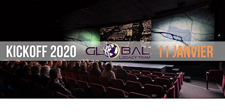 KICK OFF 2020 Global Legacy Team billets