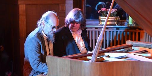 Axel Zwingenberger & Henning Pertiet Blues & Boogie Feuerwerk an 2 Flügeln