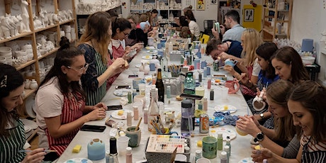 Pottery Painting - Thursday BYOB Session tickets