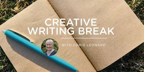 CREATIVE WRITING BREAK - JUNE 2020 with Chris Leonard tickets