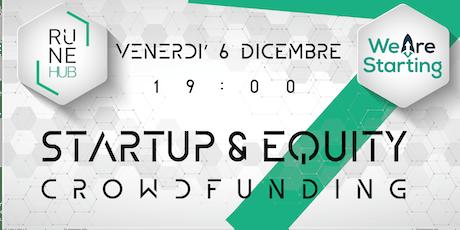 Startup & equity crowdfunding biglietti