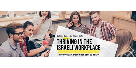 Thriving in the Israeli Workplace tickets