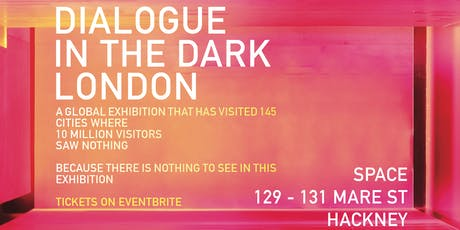 Dialogue in the Dark | January tickets
