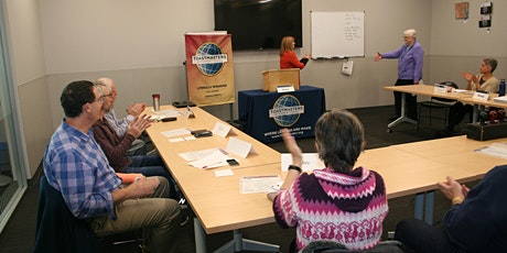 """Literally Speaking"" Toastmasters. Communication-Leadership-Competence tickets"