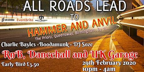 RnB, Dancehall and UK Garage tickets