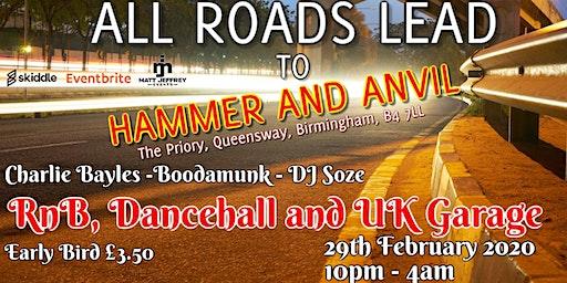 RnB, Dancehall and UK Garage