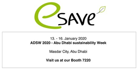 Abu Dhabi Sustainability Week 2020 tickets