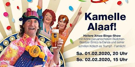 Enricos Büdchen Bingo - Kamelle Alaaf (1) Tickets