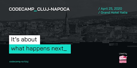 Codecamp Cluj-Napoca, 25 April 2020 tickets