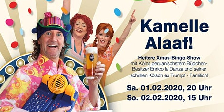 Enricos Büdchen Bingo - Kamelle Alaaf (2) Tickets
